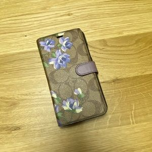 COACH-floral IPhone XR case